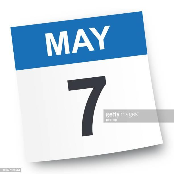 May 7 - Calendar Icon