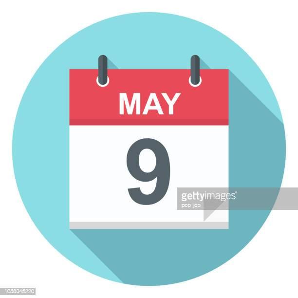 9.Mai - Kalender-Symbol