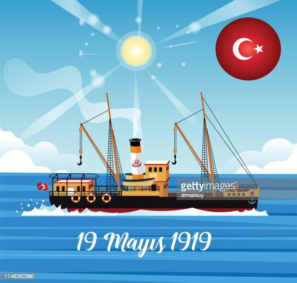 19 May Ataturk commemoration, Youth and sports festival and Bandirma ship