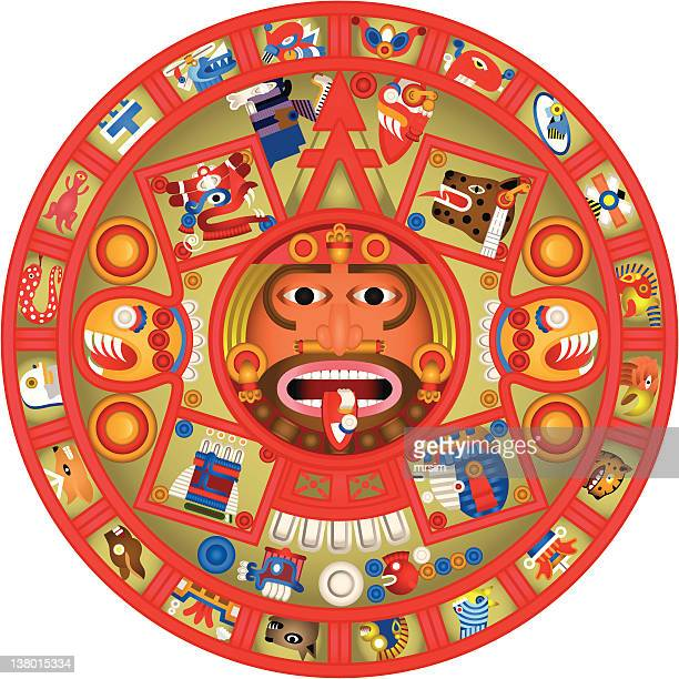 Calendario Maya Vector.Mayan Premium Stock Vector Art And Graphics Getty Images