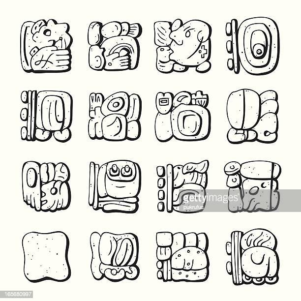 Mayan Stock Illustrations And Cartoons Getty Images