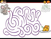 maze activity with mouse
