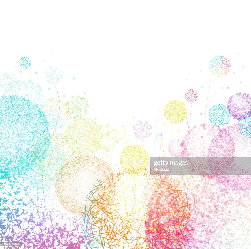 Meadow Abstract Background : stock vector