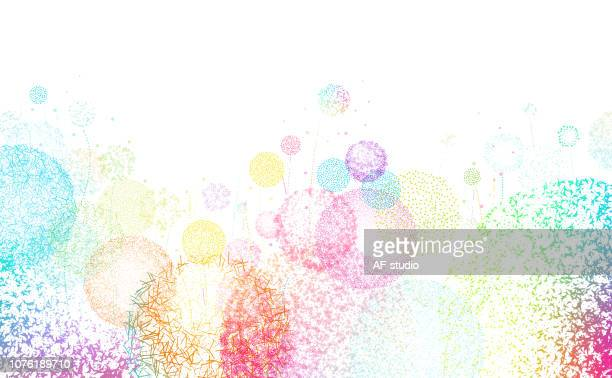 Meadow Abstract Background
