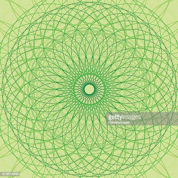 ilustraciones, imágenes clip art, dibujos animados e iconos de stock de meadow concentric circle vector graphic - frank ramspott