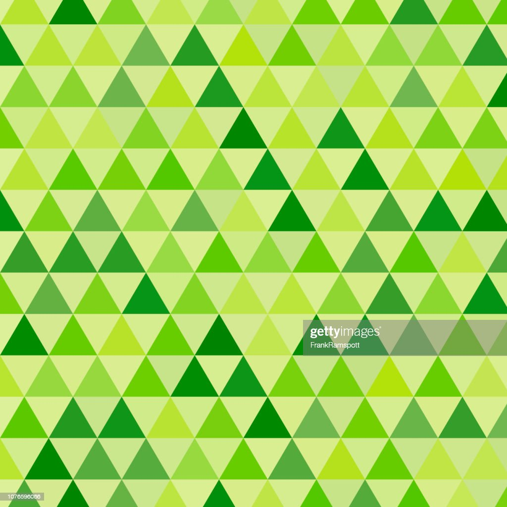 Wiese gleichseitiges Dreieck Vektormuster : Vektorgrafik