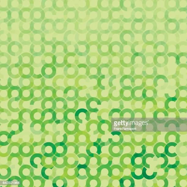 ilustraciones, imágenes clip art, dibujos animados e iconos de stock de prado círculo geométrico circular vector patrón - frank ramspott