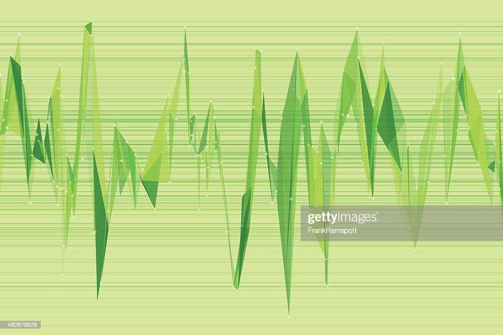 Meadow Triangulation Diagramm : Stock-Illustration