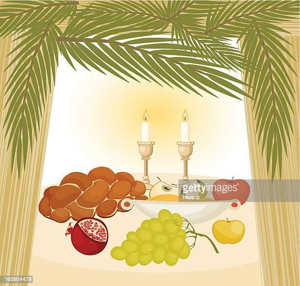スカーでのお食事 - 仮庵の祭り点のイラスト素材/クリップアート素材/マンガ素材/アイコン素材
