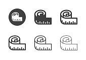 Measuring Tape Icons - Multi Series