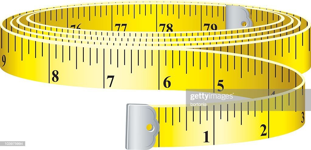 Fabulous Measuring Tape Stock Vector Getty Images Wiring Digital Resources Dimetprontobusorg