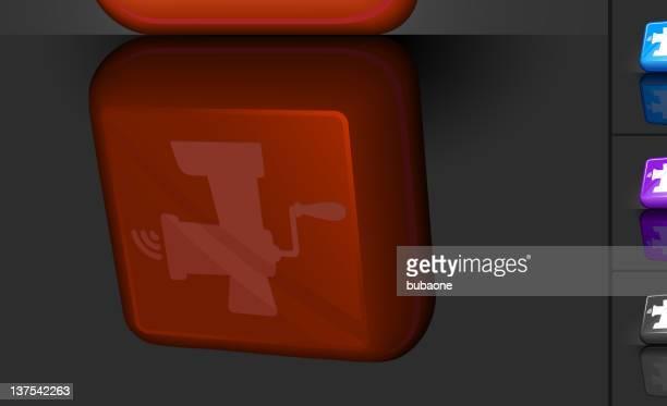 meat grinder 3D button design