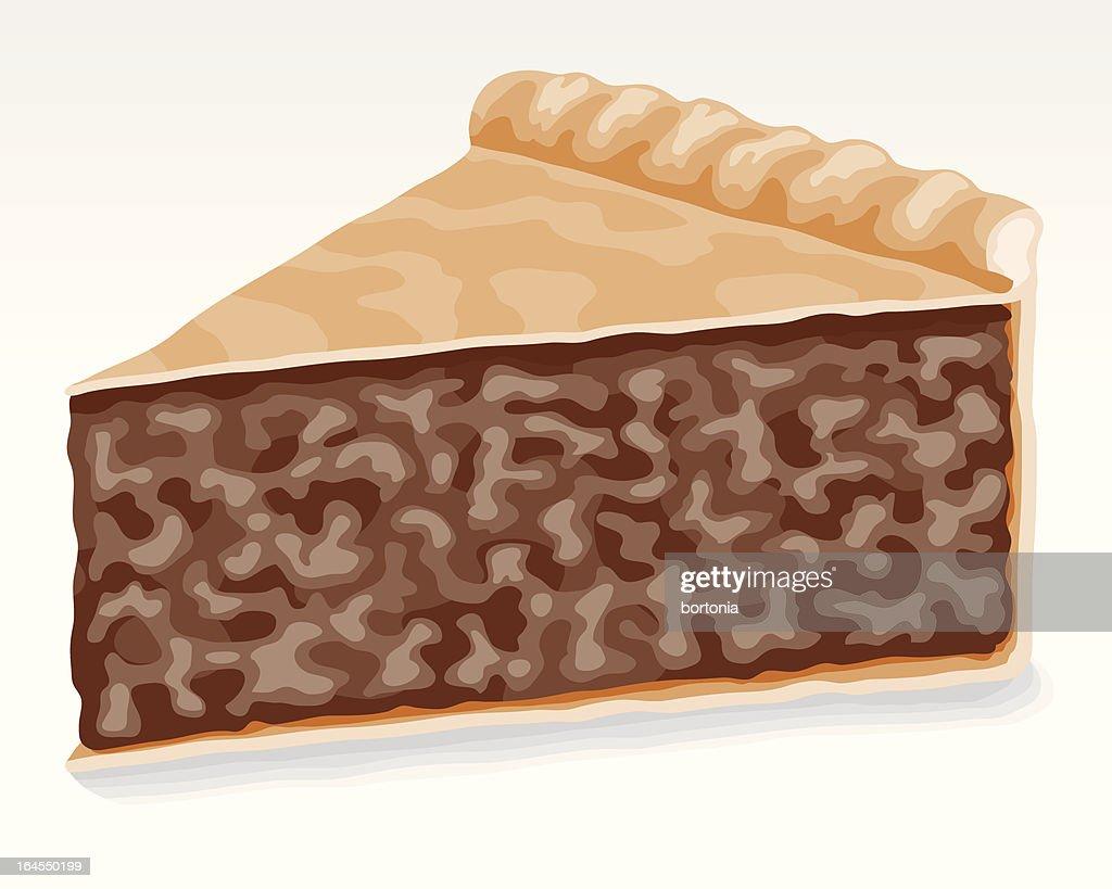 Meat Pie (Tourtière) : stock illustration