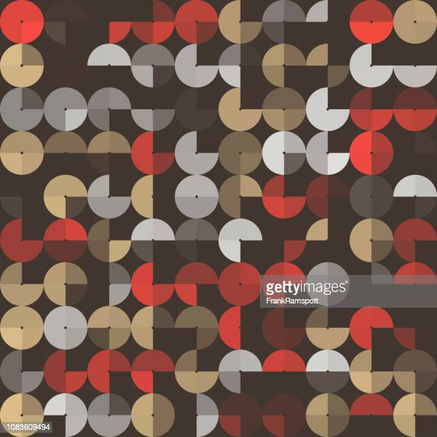 Mechaniker abstrakt Design Kreismuster