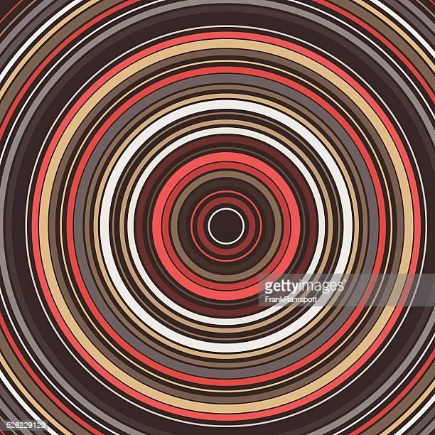 Mechaniker Konzentrisch Circle Abstrakte Muster