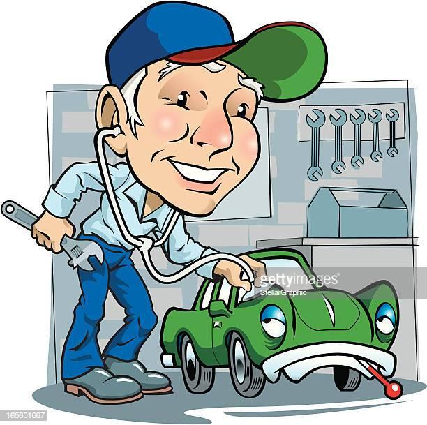 60 Top Auto Mechanic Stock Illustrations Clip Art