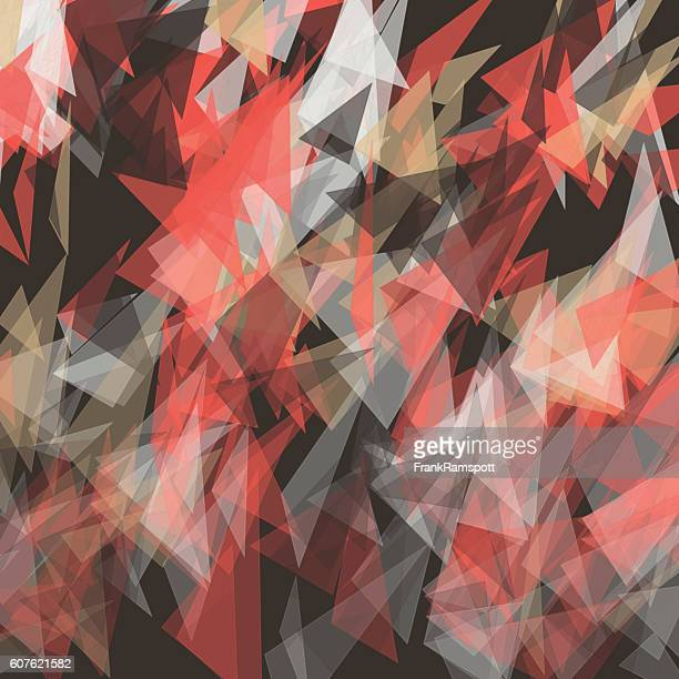 ilustraciones, imágenes clip art, dibujos animados e iconos de stock de mechanic triangle geometric vector pattern - frank ramspott