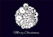 Mechanical Christmas ball