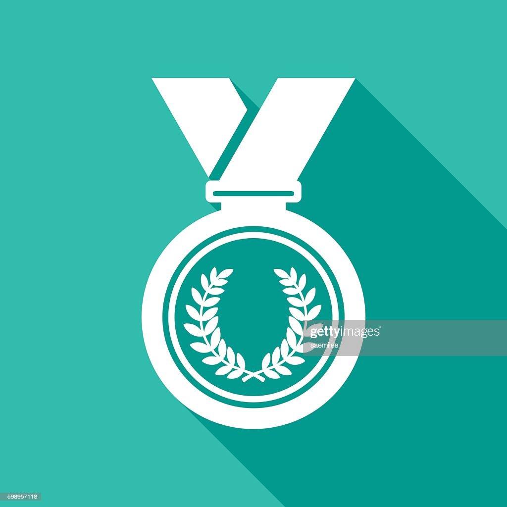 Medal Icon White