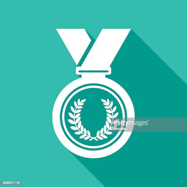 Medal Icon White