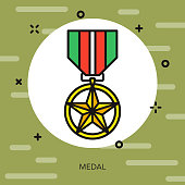 Medal Military Icon
