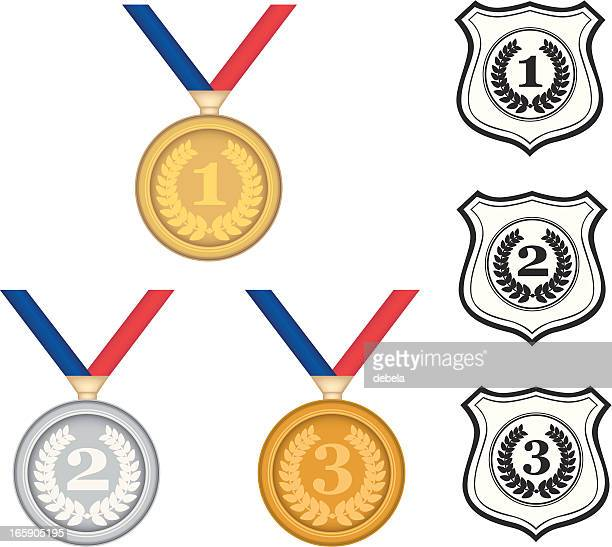 Medals And Shilds