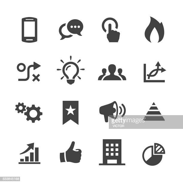 Media Marketing Icons - Acme Series