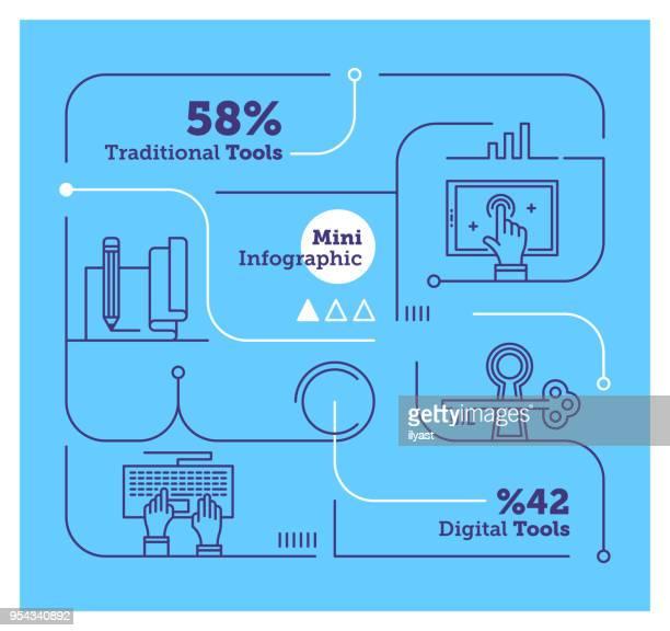 Media Mini Infographic