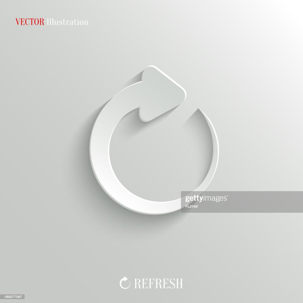 Media player icon - vector web background
