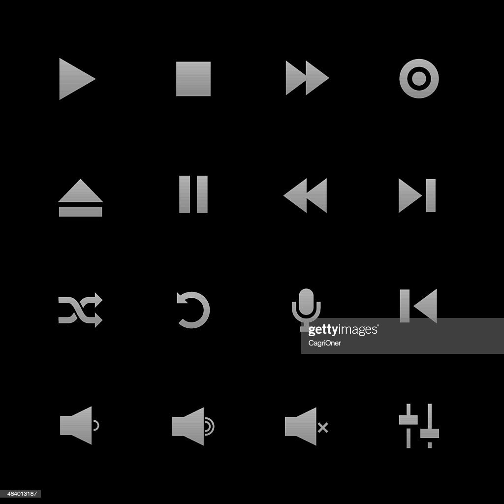 Media Player Icons : Android Series