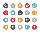 Media Player Icons // Classics