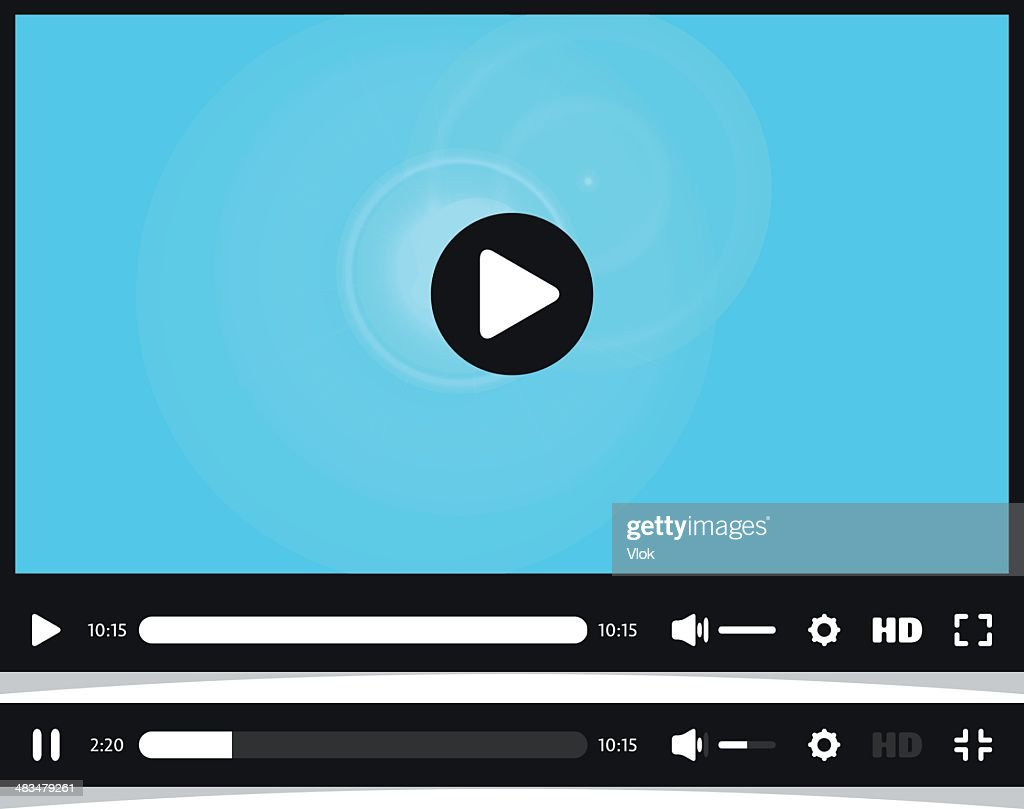 Media player interface. Video online.