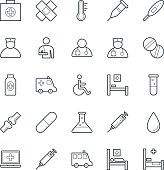 Medical and Health Cool Vector Icons 1