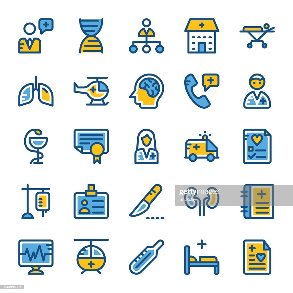Medical and Health Vector Icons 2