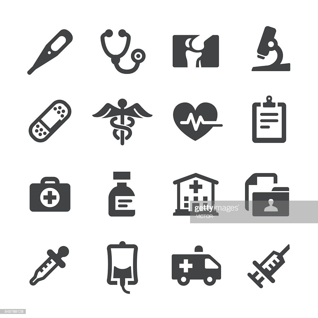 Medical and Healthcare Icons - Acme Series : Ilustração