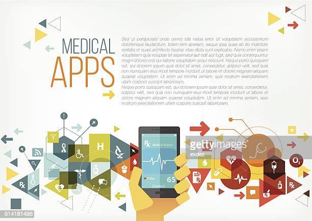 Medical apps copyspace