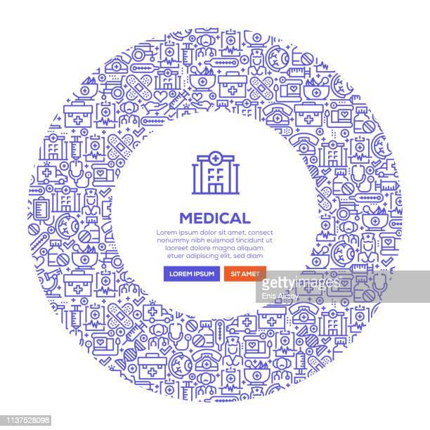 ilustrações, clipart, desenhos animados e ícones de bandeira médica - exame de vista exame médico