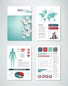 Medical Brochure Infographics