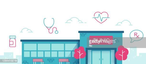 診療 所 - 医院点のイラスト素材/クリップアート素材/マンガ素材/アイコン素材