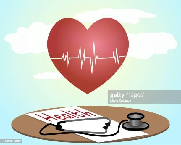 ilustrações, clipart, desenhos animados e ícones de conceito médico-seguro de saúde. - formulário de pedido