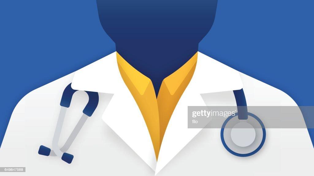 Doktor der Medizin : Stock-Illustration