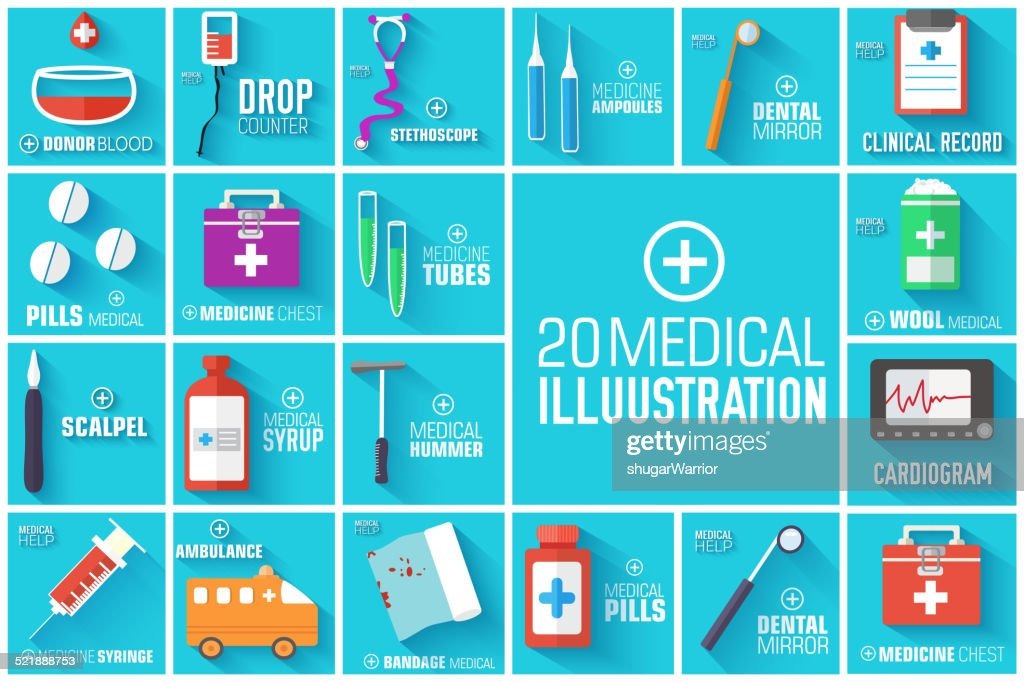 medical equpment backgrounds. Template for you web and mobile applications.
