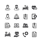 Medical & Health Care Services Icons