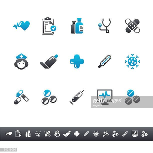 Medical & Health Icons | Blue Grey