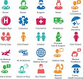 Medical & Healthcare Icons (Color Series) - Set 1