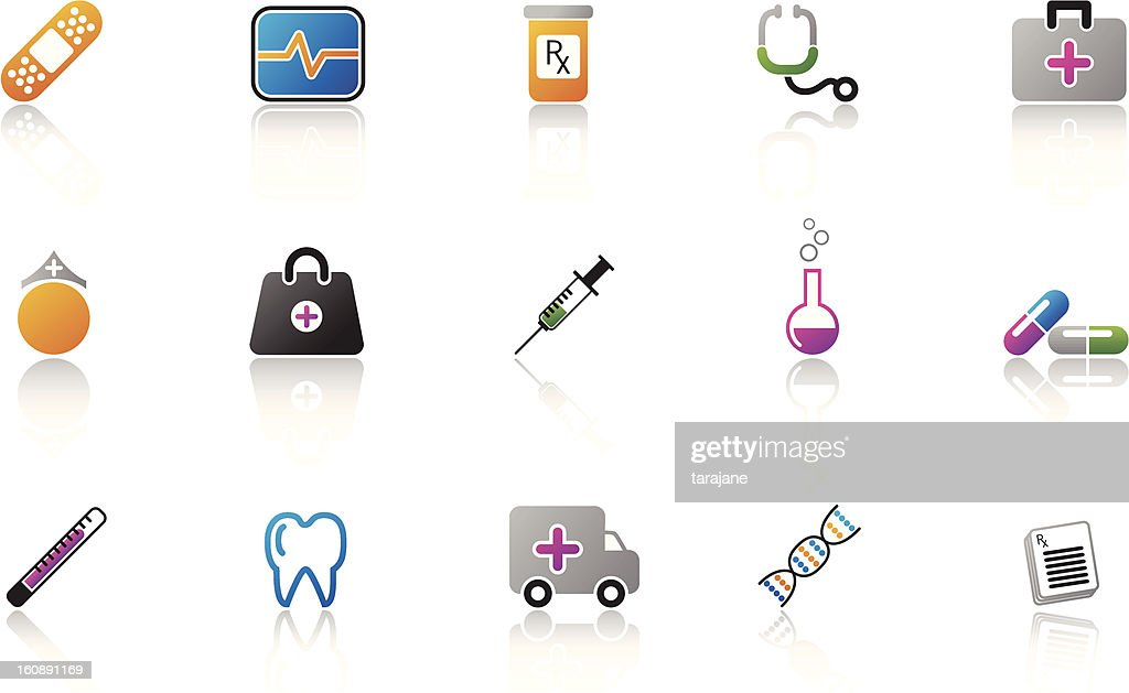 Medical Icon Set - Color