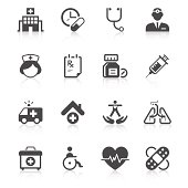 Medical Icon Set   Unique Series