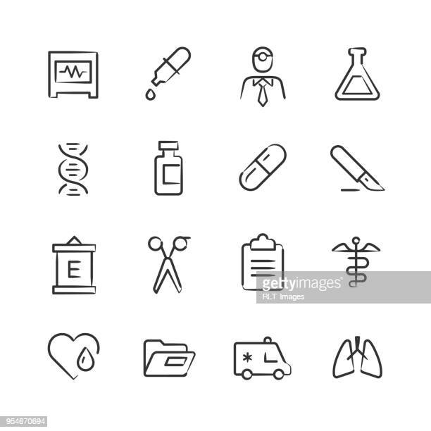 Medical Icons 2 — Sketchy Series