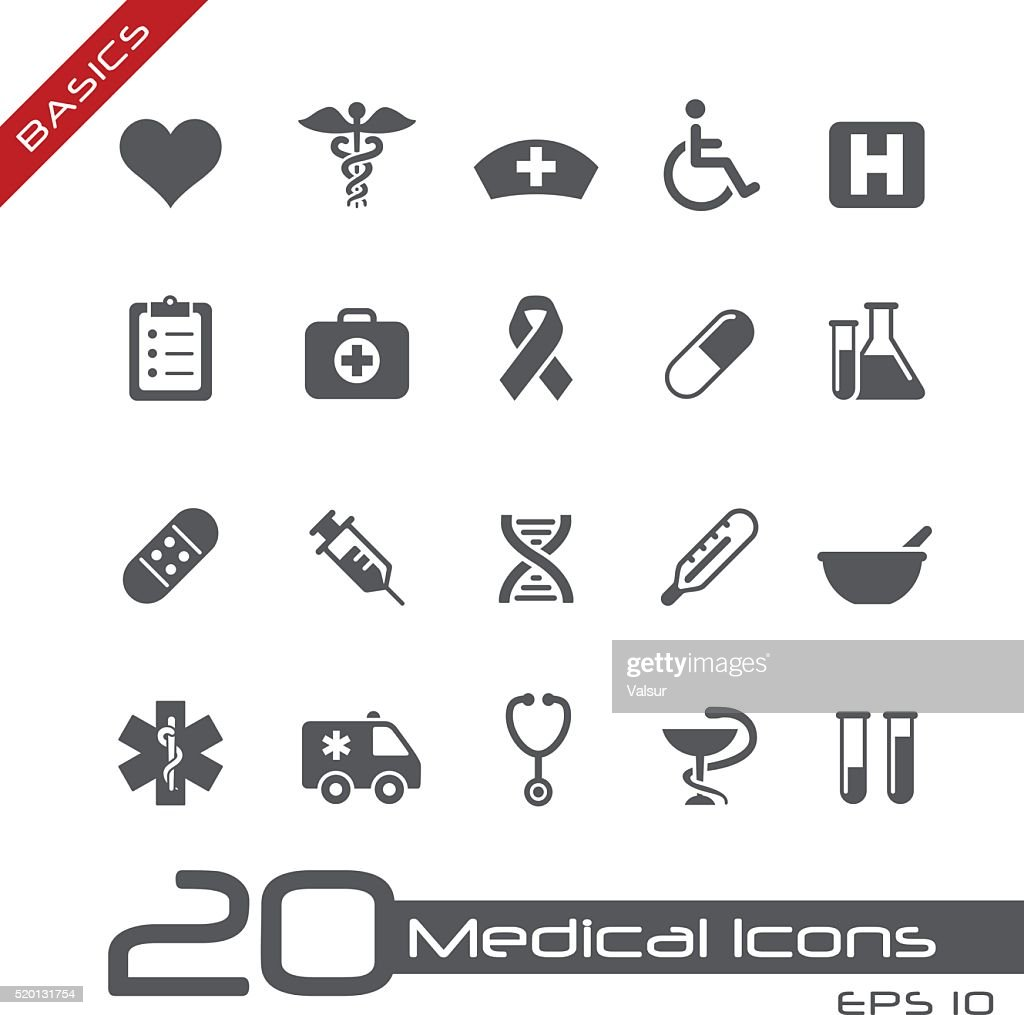 Medical Icons // Basics