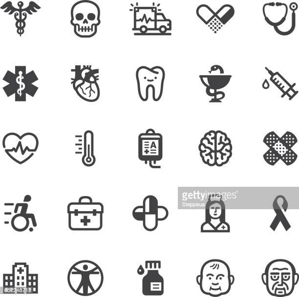 medical icons - black series - blood bag stock illustrations, clip art, cartoons, & icons